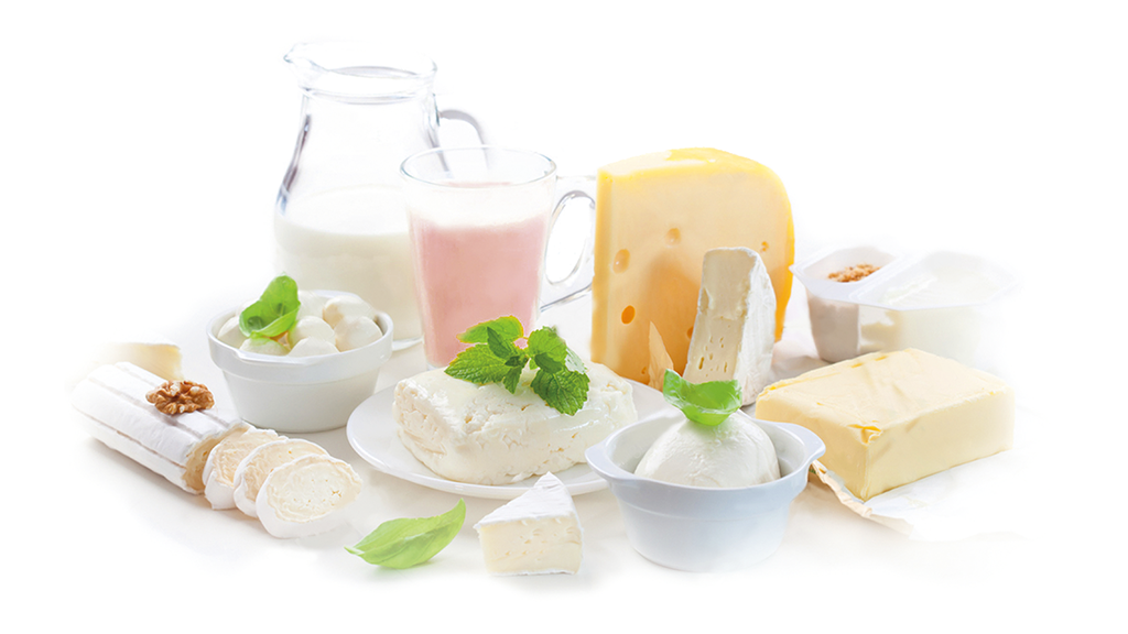 Products for dairy and ice creams